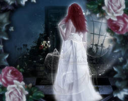 Spooky Door by MelFeanen