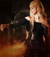 The Khaleesi by MelFeanen