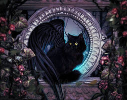 Mystic Cat by MelFeanen
