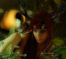 Like a faun by MelFeanen