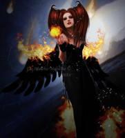Angel of Destruction by MelFeanen