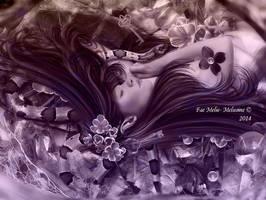 Sleeping Faerie by MelFeanen