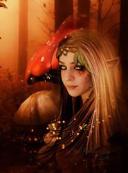 Le peuple des champignons by MelFeanen