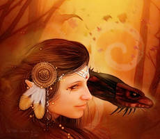 Galoo Zaz Mother of the Forest by MelFeanen