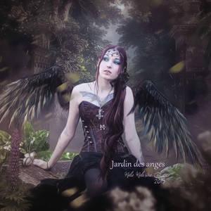 Jardin des anges by MelFeanen