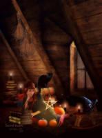 Secret room by MelFeanen