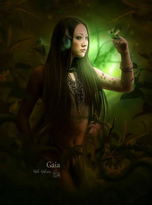 Gaia by MelFeanen