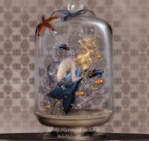 Little Mermaid in Jar II by MelFeanen
