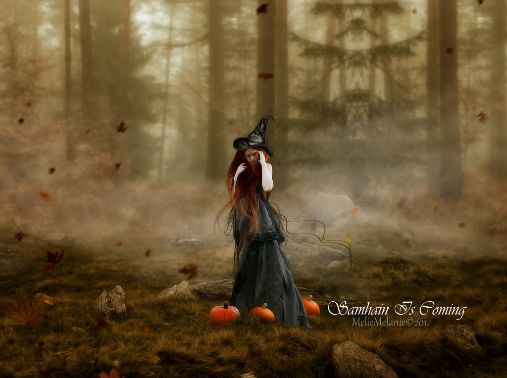Samhain Is Coming by MelFeanen