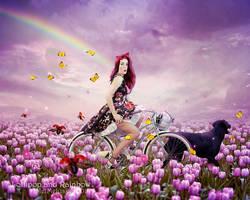 Lollipop and Rainbow by MelFeanen
