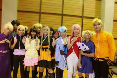 Boruto's team cosplay by Pan-Ko