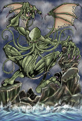 CTHULHU by necronocimon