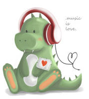 .music is love. by horror-child