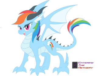 The Coolest Dragon by EnteringTheNethery
