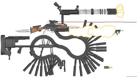 COD: Advanced Warfare leaked gun by EnteringTheNethery