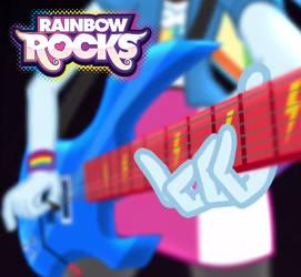 Rainbow Rocks Alternate Album Art by EnteringTheNethery