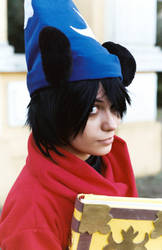 Mickey - Sorcerer Apprendice Cosplay. by DarkSideOfMoony