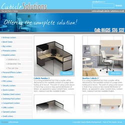 Cubicle Solutions by reflectdesign