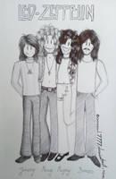 Led Zeppelin by Oceansoul7777