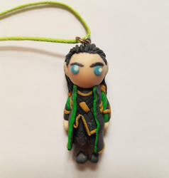 LOKI necklace by Oceansoul7777