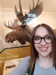 Selfie with Moose by Oceansoul7777