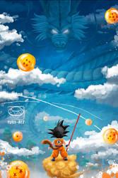 Dragon Ball Fanart by Ruby--Art