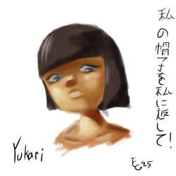 Yukari skech by tcgraham93