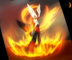 The Blazing Hawk: Evolution by Ultimatechaosblast