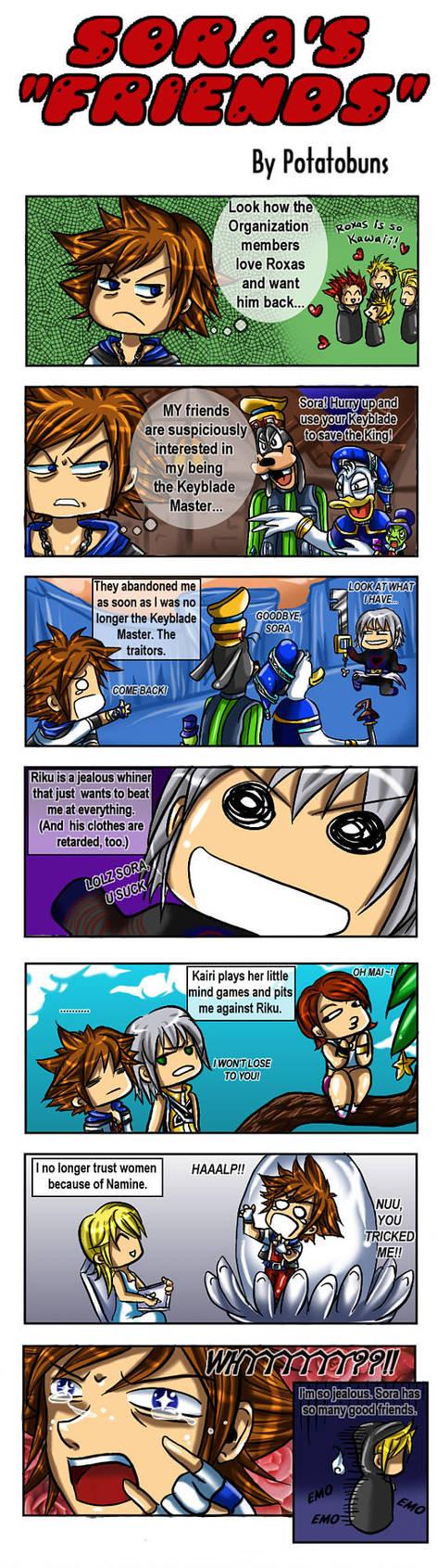 KH: Sora's 'Friends' by Potatobuns