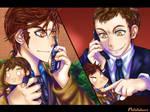 Doctor Who - Sound of Plushies by Potatobuns