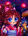 Anime Conji 2012 Matsuri Art Contest by Potatobuns