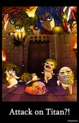 Attack on Titan by Potatobuns