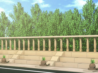 Anime style background by deff00