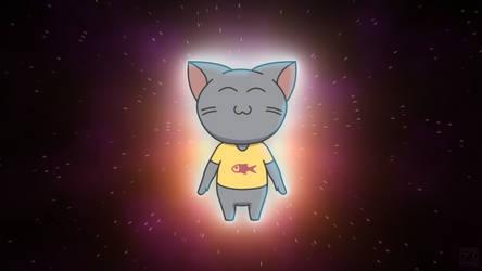 Ryoshi Cat Supernova by deff00