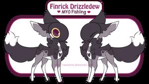 [MYO] Finrick Drizzledew the Fishling by Rainywren