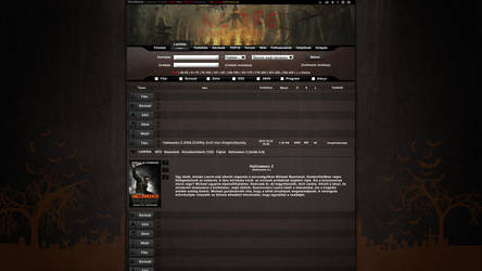 Halloween torrent Templates by curtisblade