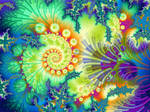 Fleur de Fractal by annamarie57