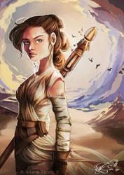 Rey - Star Wars by ArianeTorelli