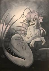 [GORETOBER] Day 6 - Monster form by inopochi