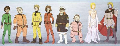 R63 Yamato 2199 characters by juzo-kun
