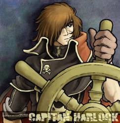 Capitan Harlock by juzo-kun