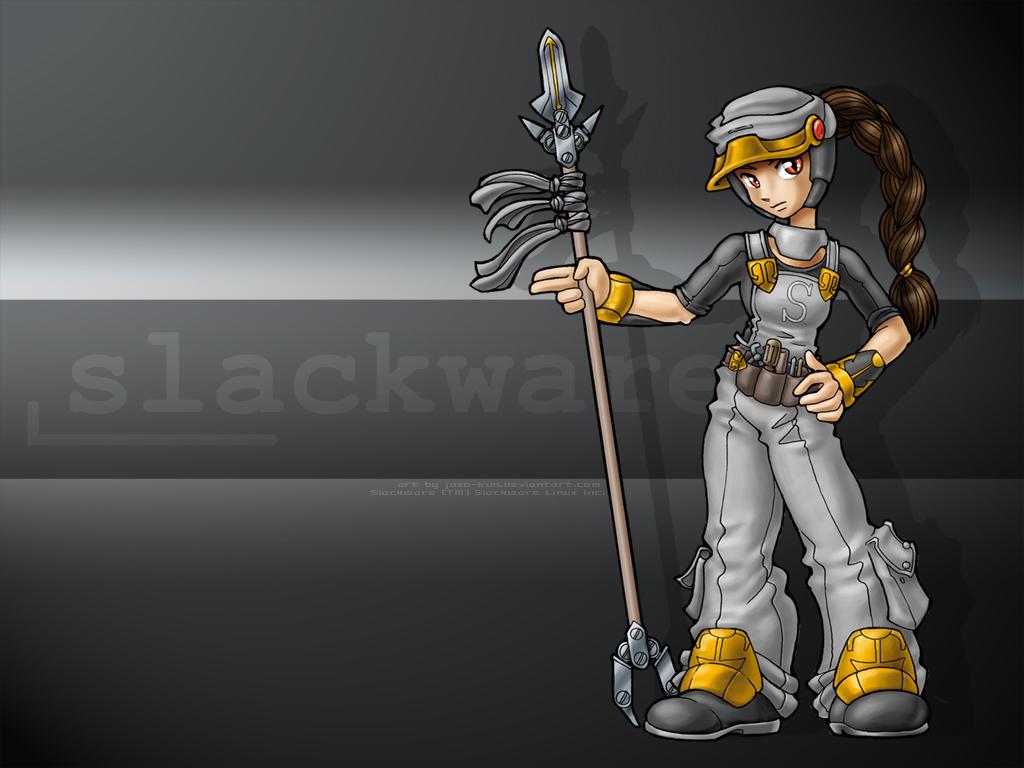 Linux-tan fanart: Slackware by juzo-kun