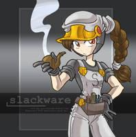 Linux-tan fanart: Slackware II by juzo-kun