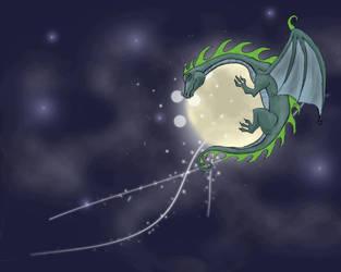 Moondragon by wrapit