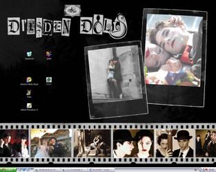Dresden Dolls Desktop by wrapit