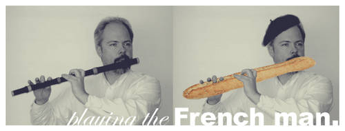 playing the French man by wrapit