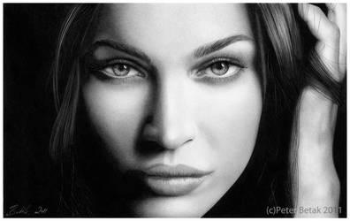 Megan Fox photorealistic by petbet1