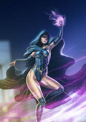 Raven - Young Justice by TSABER