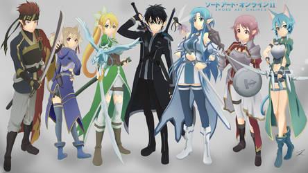 Sword Art Online II Wallpaper by Exede