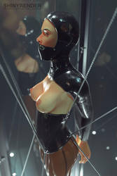 Glass Cage 02 by Shinyrender